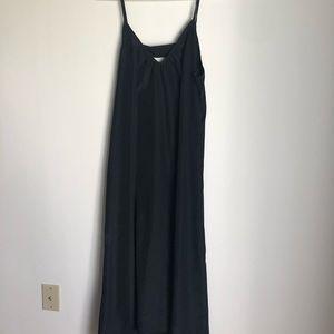 Black silk dress NWT